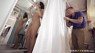 fuck session in the fitting room