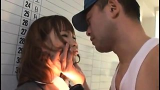 Asian 69 asshole lick and doggystyle fuck