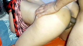 Indian girlfriend sex, first deep sex with Asian