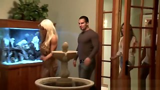 Swingers Couple Having Foursome After Night Out.