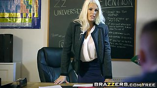 Brazzers - Big Tits at School - Teacher Tease scene starring