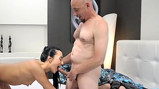 OLD4K. Skillful daddy penetrates hot mistress Anna Rose...