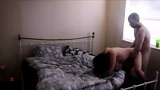 Lustful brunette milf relishes a rough fucking from behind
