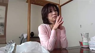 Hot japonese mother in law of visit