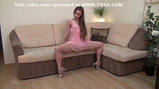 Flexible Girl Margo Gymnast and Erotic Show