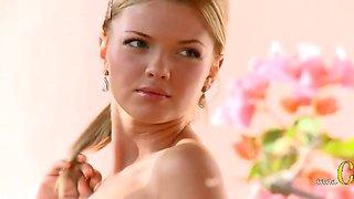 Amazing blonde glamour casting