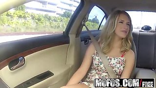 mofos - stranded teens - dixie belle - blonde gets nailed on