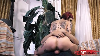 Big tits pornstar dp with cumshot