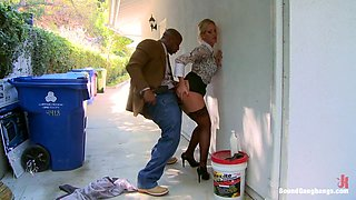 Vote Simone Sonay Hot Blonde Dominated by Step Mom and Gangbanged DAP