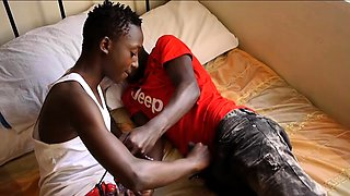 Africans Brian and Chalse Bareback