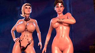 medival elfs girls 3d hentai bc