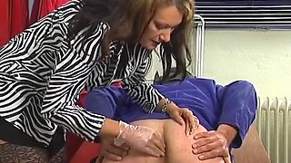 Horny homemade Strapon, Fisting porn video