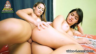 Juliana Souza Fucks Beatrice Velmont - Brazilian-Transsexuals