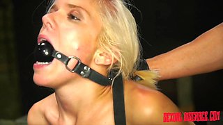 BDSM and a slave role are the favorite games for amazing Halle Von