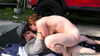 18+ Teens in College Orgy Car Wash
