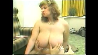 Norwegian Milf  in high heels gets fucked hard on a sofa