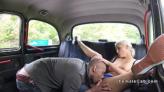 bulgarian tourist fucks female cab driver