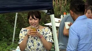 Japanese group sex with pussy licking and fucking