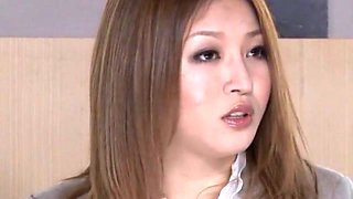 Horny Japanese slut Yuki Toma in Fabulous Big Tits, Secretary JAV video