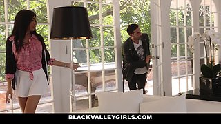 BlackValleyGirls- Hot Black Teen Fucks Sneaky Sex With Boyfr