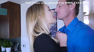 Natalia Starr Rides Her Asshole On Top Of Boss Man