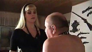 Crazy Homemade movie with Femdom, Blonde scenes