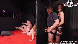 Hot German Housewife Swinger Groupsex Orgy