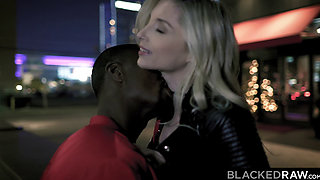 BLACKEDRAW Tiny blonde dominated by black stud
