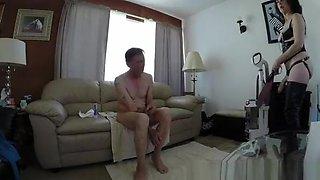 Mature Wife Fucks Husband In The Ass