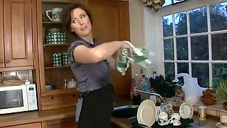 Best Big Tits, Kitchen adult scene