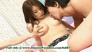 Aya Hirai innocent chinese girl gets wet creampie