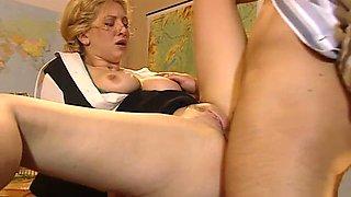 Cathy anal busty teacher