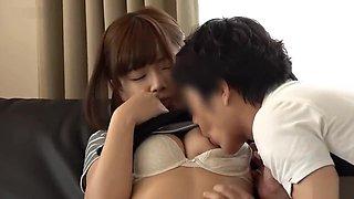 Hot Japanese whore in Fabulous Bukkake, HD JAV clip uncut