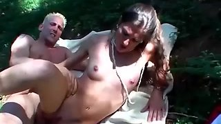 german babe picked up for anal in nature