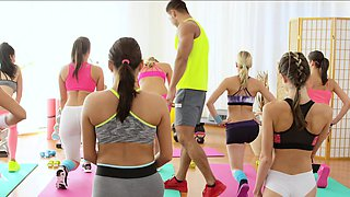 FitnessRooms Young teens fuck gym teacher