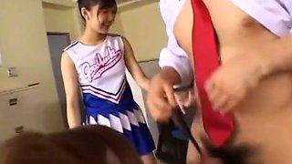 Hottest Japanese chick Miyuki Yokoyama, Michiru Hoshizora, Satomi Suzuki in Amazing Facial, Close-up JAV clip