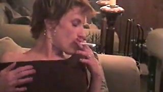 Mom smoking sex