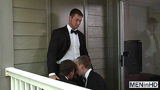 sexy connor a threesome with his buddies have jj and tommy