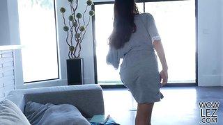 Nina Elle enters Eva Longs fairy dream