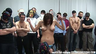 Extremely horny Czech college students are ready to have a group sex