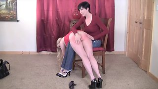 slutty girl punished