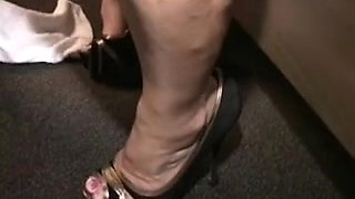 Darksome stud makes wife cum and cry