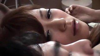 Exotic Japanese girl Haruki Sato in Crazy Cunnilingus, Bus JAV video