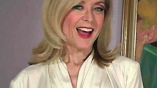 Jerkoff video from Nina Hartley