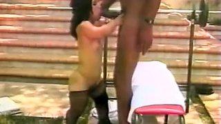 Fabulous homemade Big Dick, Outdoor porn movie