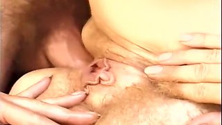 Two Guys Blown By Their Sexy Neighbour