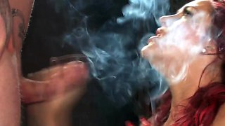 smoking blowjob 3
