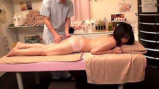 Exotic Japanese chick Mei Akizuki, Koizumi Nozomi, Mina Yoshii, Jun Mamiya in Fabulous small tits, college JAV video