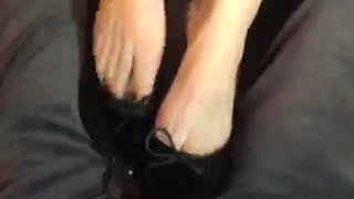 Shoe Job Foot Job Tease