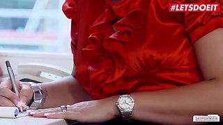 Hot Sex In The German Office With - Kinky Secretary